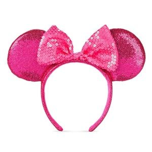 Imagination pink Minnie Mouse ears adult